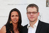 Matt and Luciana Damon Show Their Support For a Cause Close to Emily Blunt's Heart
