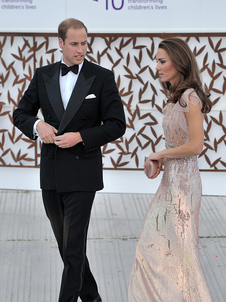 Kate Middleton's Evening Gown