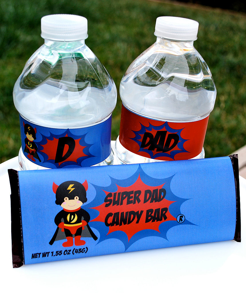 Superhero, SuperDAD, Father's Day Party Package