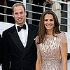 Prince William and Kate Middleton Pictures at Ark Dinner