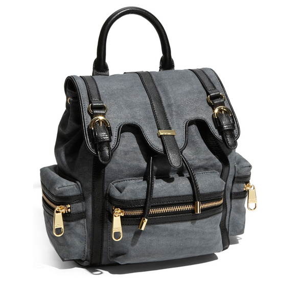 Badgley Mischka Canvas Backpack, $295