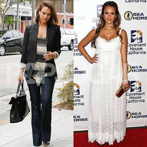 Jessica Alba Pictures at the Covenant Gala
