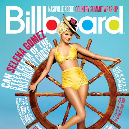 Pictures of Selena Gomez in Billboard Magazine