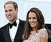 Pictures of Prince William and Kate Middleton in Jenny Packham Gown at Ark Dinner