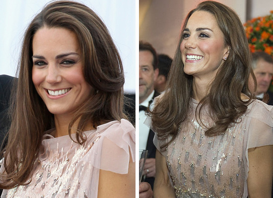 Kate Middleton Beams as She Gets Her Glam on For Ark!