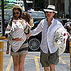 Pictures of Tom Cruise With Katie and Suri on Father&#039;s Day