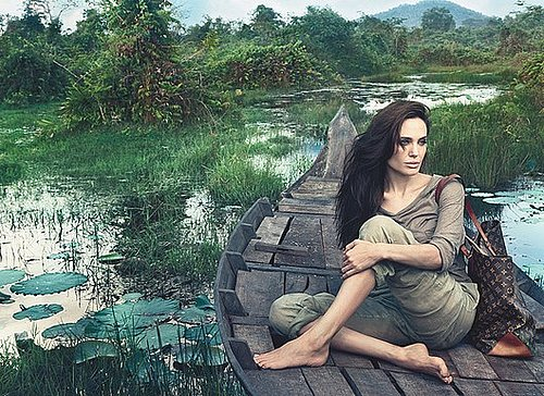 Angelina Jolie in the Core Values Louis Vuitton Ad 2011