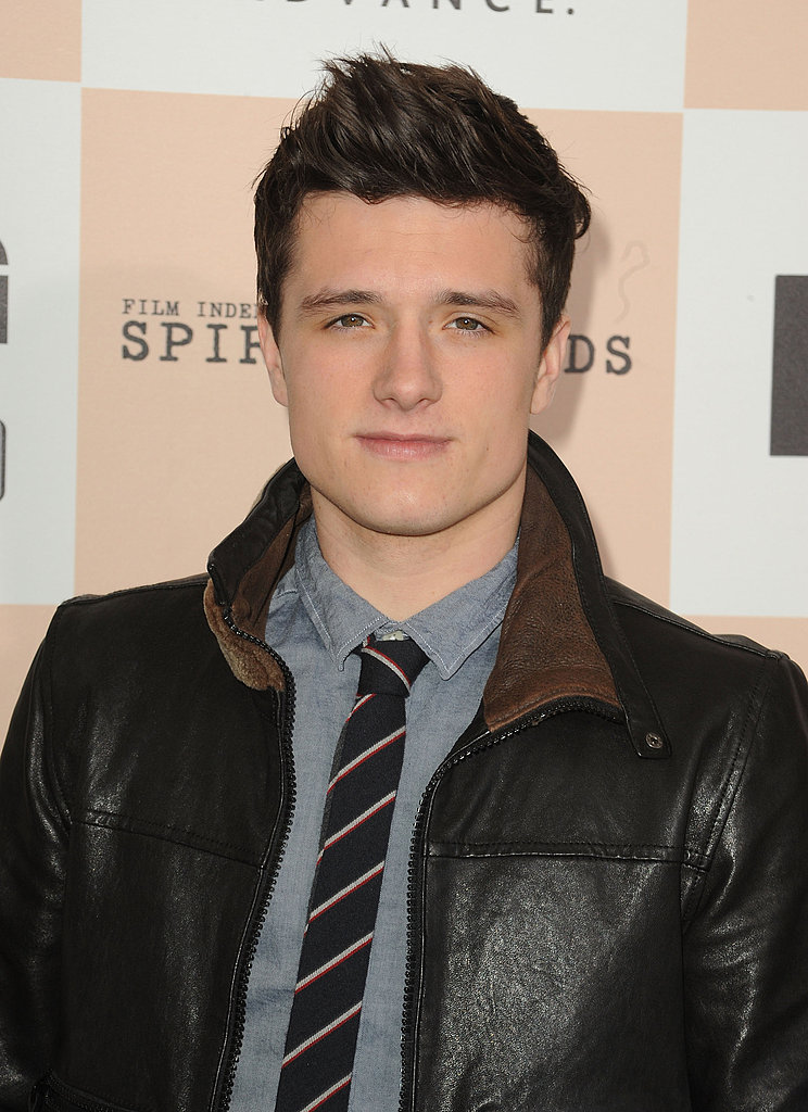 Josh Hutcherson Gets to Work as Peeta on The Hunger Games!