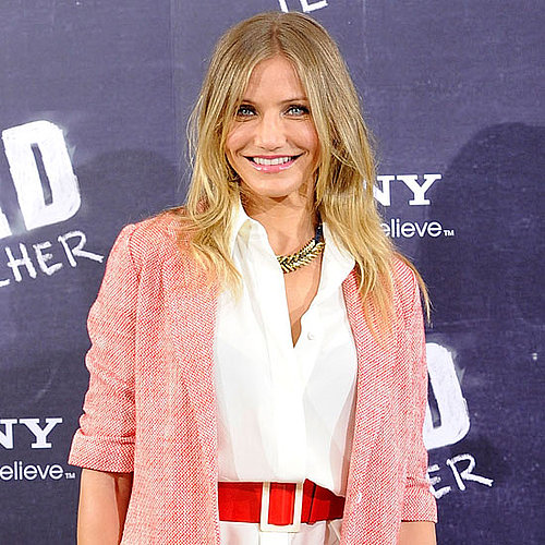 Cameron Diaz Pictures at a Bad Teacher Photo Call in Madrid