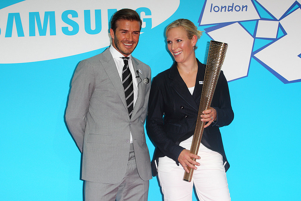 David Beckham Gets a Spirited Send-Off Prior to Sharing His Olympic Dreams