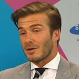 Video of David Beckham Talking About the 2012 Olympics