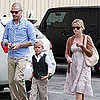 Reese Witherspoon, Deacon Phillippe, and Jim Toth at Church