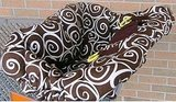 Chocolate Swirl Cart Cover