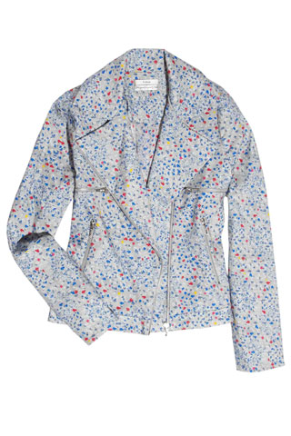 Erdem Rue Cotton Biker jacket, $1,630