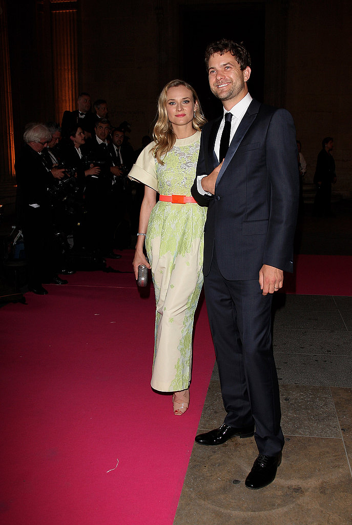 Joshua Jackson and Diane Kruger Go Black Tie For a French Gala