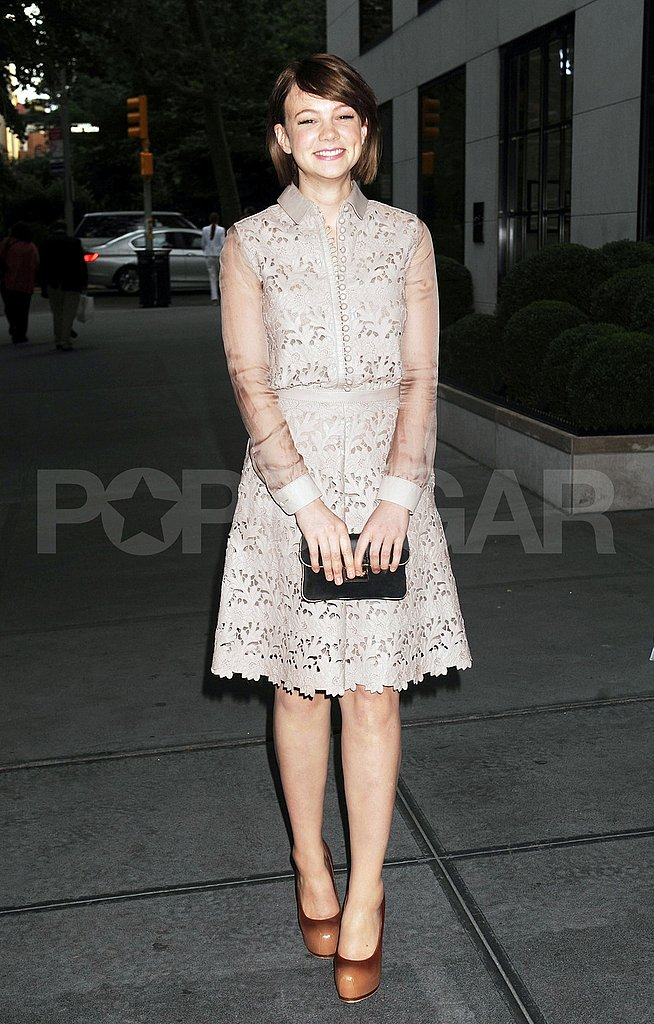 Carey Mulligan Spends Her Evening Off From the Theater at a Fashionable Bash