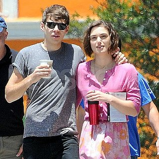 Keira Knightley on Set Pictures With James Righton