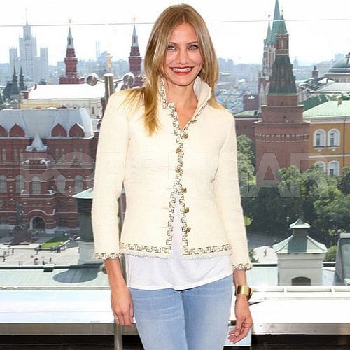 Cameron Diaz Pictures at a Bad Teacher Photo Call in Moscow