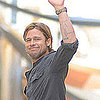 Brad Pitt on the Set of World War Z Pictures!