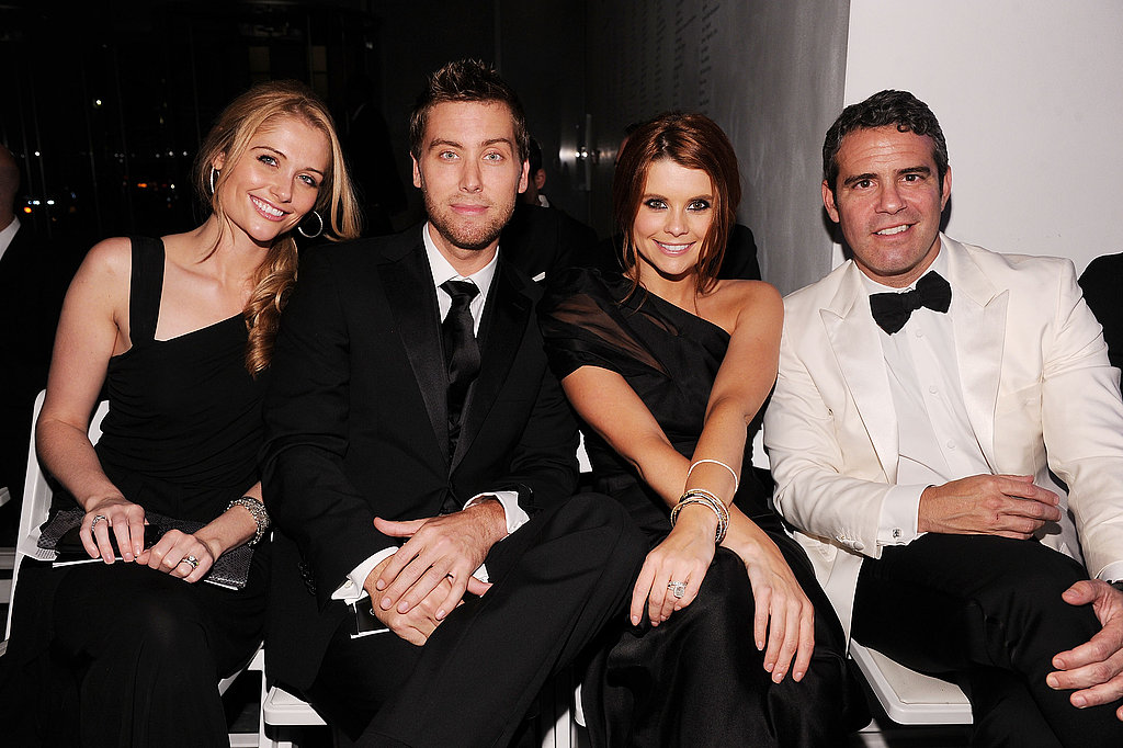 Heidi Klum Dazzles at an amFAR Bash With James, Jennifer, JoAnna, and More