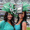 Pictures of the iPad and iPhone Hat at the Royal Ascot Event