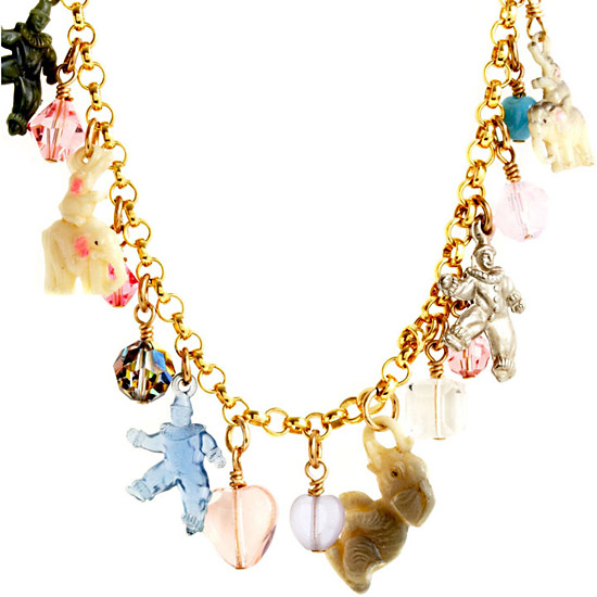 Rodarte Circus Themed Necklace, $1,875