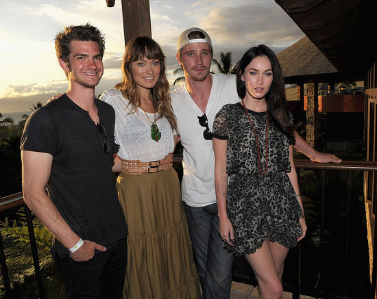 Andrew Garfield, Megan Fox, Olivia Wilde, and Garrett Hedlund Bring Their Tans to the Maui Film Festival