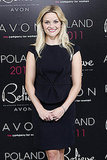 Reese Witherspoon Dresses Up Overseas For Avon
