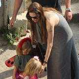 Video of Brad Pitt and Angelina Jolie With All the Kids in Malta, Plus Moneyball Trailer!