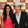 Pictures of Matthew McConaughey and Camila Alves at LA Film Festival