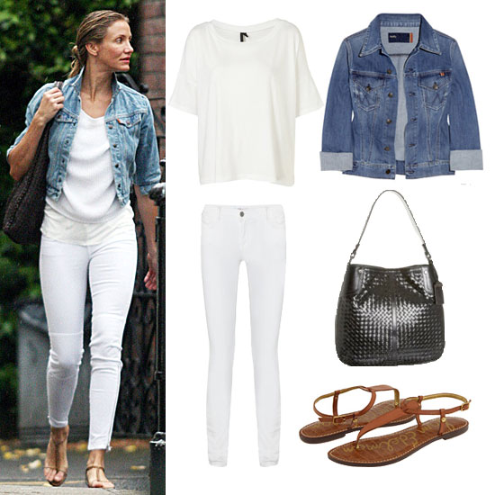 How to Wear White Jeans: Casual