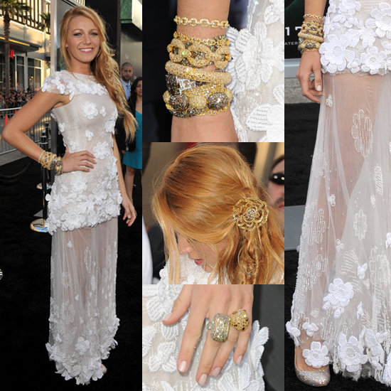 All Angles: Blake Lively Hits the Green Lantern Premiere in Chanel