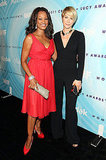 Garcelle Beauvais and Jenna Elfman