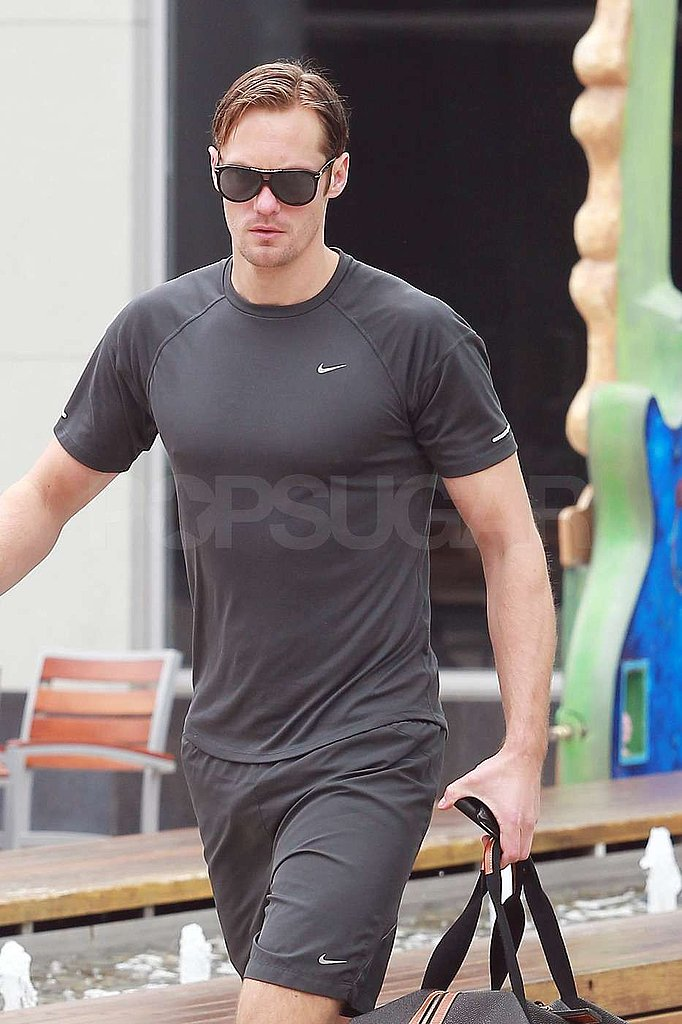 Alexander Skarsgard Just Does It With Another Day at the Gym