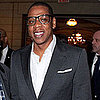 Jay-Z Takes the Mic Pictures at the Music Visionary of the Year Award Lunch