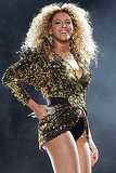 Beyonce Knowles at Glastonbury 2011.