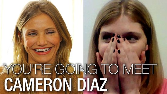 Cameron Diaz I'm a Huge Fan, Part One: Meet Our Lucky Winner and Watch Her Take On Improv!