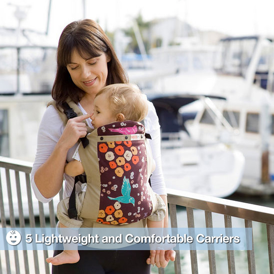 5 Lightweight and Comfortable Baby Carriers