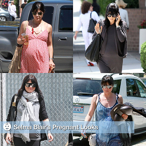Pictures of Selma Blair's Pregnancy Style