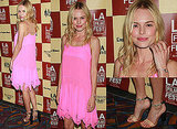 Pictures of Kate Bosworth in Neon Pink Richard Nicoll Dress and Chloe Shoes at the LA Film Fest premiere of L!fe Happens
