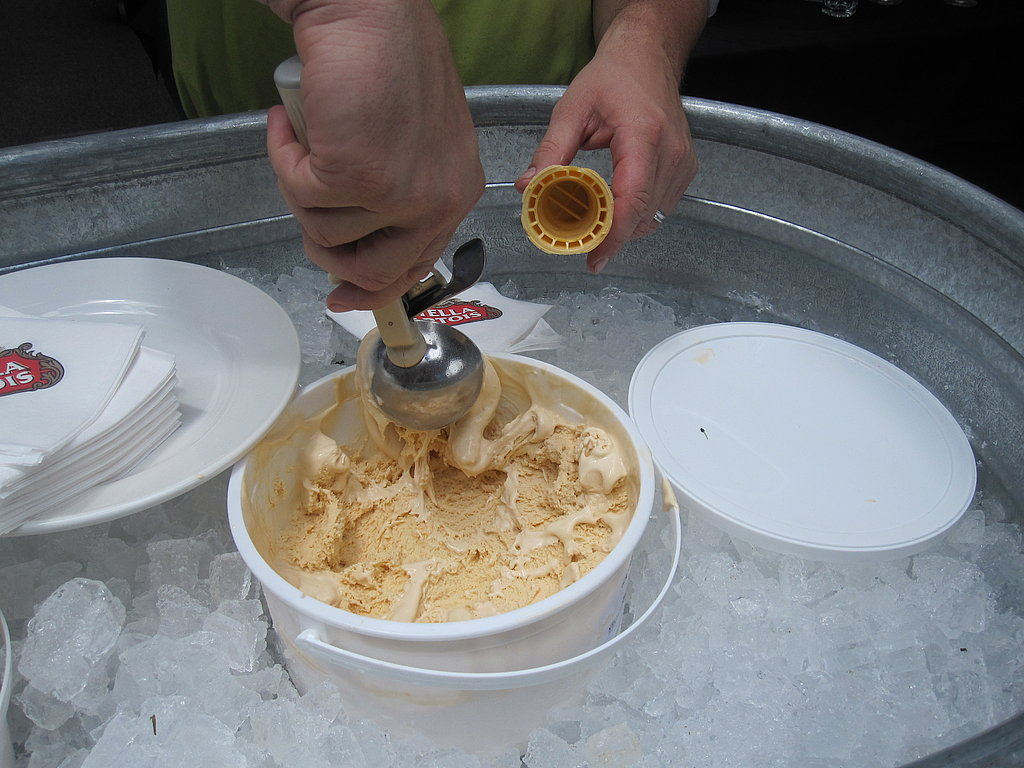 After the black pasta, Blais's crew scooped dry butterscotch ice cream. This nostalgic treat was different from traditional ice cream. It was made with dry ice and had a thick, more-custard like texture and rich buttery flavor. I'm still thinking about it!