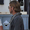 Angelina Jolie Visits Brad Pitt on the World War Z Set