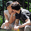 Ashlee Simpson and Vincent Piazza Kiss and Hug in NYC