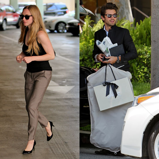 Amanda Seyfried and Dominic Cooper Reunite to Hit Barneys
