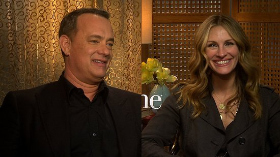 Video: Larry Crowne's Tom Hanks and Julia Roberts Talk Parenthood and Making Work Feel Like Play