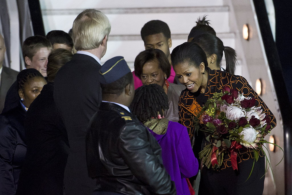 Michelle Obama Takes Grandma and Her Girls to Africa