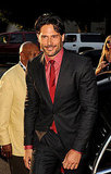 Joe Manganiello looked every bit the sexy werewolf on the True Blood red carpet.
