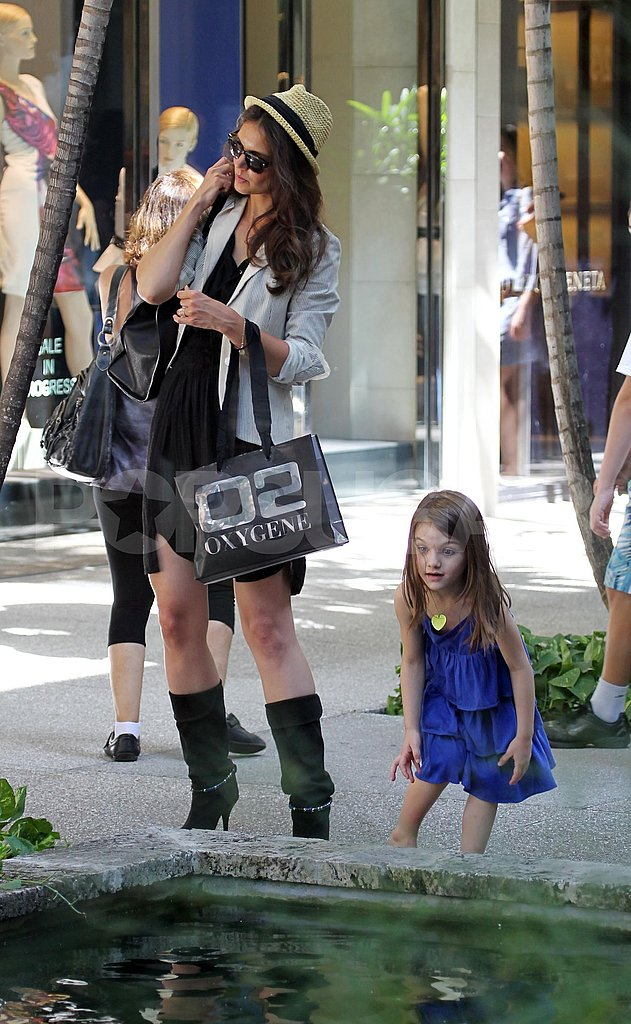 Katie Holmes and Suri Cruise were in Florida.