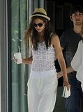 Katie Holmes Goes Sexy and See-Through in South Beach