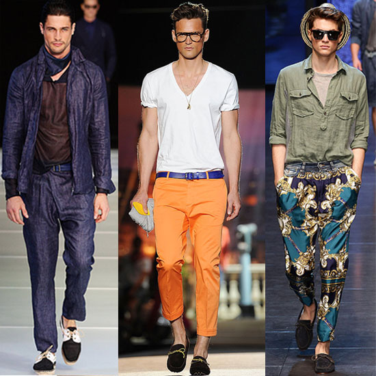2012 Spring Men's Fashion Week: The Good, Bad, and Questionable